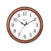 Relógio Parede Herweg 660078 272 Marrom Madeira Redondo 37cm