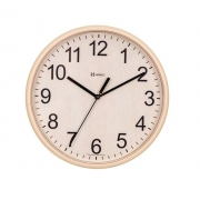 Relógio Parede Herweg 660082 324 Redondo 25,5cm Bege