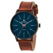 cca0ad72801 RELÓGIO RIP CURL DRAKE MIDNIGHT LEATHER NAVY A2908 49 PULSEIRA COURO ...