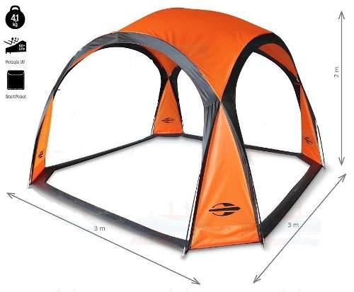 Tenda Gazebo Solis Mormaii 3x3m Para Praia Camping Leve