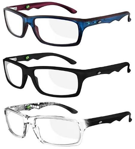 Armação Para Oculos De Grau Mormaii Viper - Diversas Cores