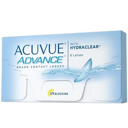 Lentes Contato Acuvue Advance Johnson Diversos Graus C/6