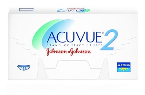 Lentes Contato Acuvue 2 Johnson Diversos Graus C/6 Lentes