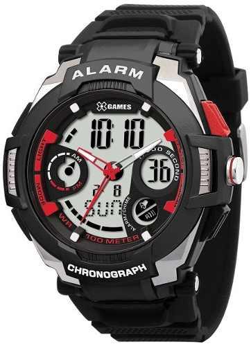 Relógio X Games Xmppa087 Tamanho Caixa 51mm - Garantia 1 Ano