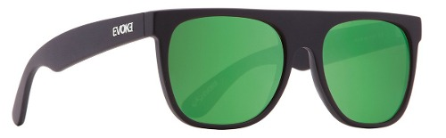 Oculos Evoke Haze Black Matte Green Mirror - Garantia 1 Ano