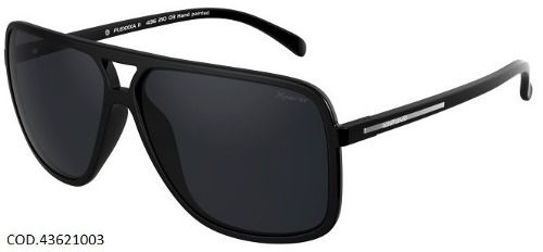 Oculos Mormaii Flexxxa 2 Xperio 43621003 Preto Brilhoso Polarizado