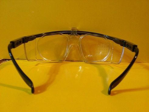 97679c7cf2324 Oculos Segurança Proteção Com Clip Para Lentes De Grau - Loja Solare ...