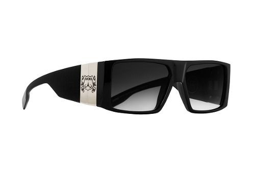 ad35ba5ba Oculos Solar Evoke Bomber A02 Black Shine Silver Gray Gradient
