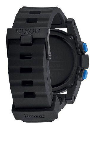 Relogio Nixon Unit Tide A282 018 Black Blue  Garantia 2 Anos