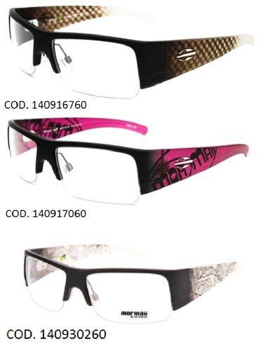 Armação Para Oculos De Grau Mormaii Bruce - Garantia