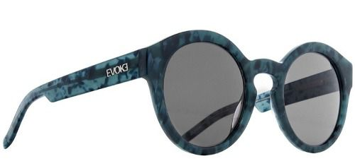 Oculos Solar Evoke Evk 12 Big Turtle Blue Gray total
