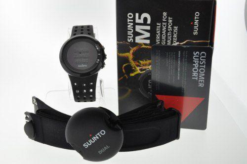 Relogio Monitor Cardiaco Suunto M5 All Black 2 Anos Garantia