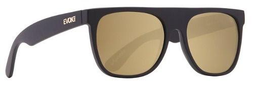 Oculos Evoke Haze Black Matte Gold Mirror - Garantia 1 Ano