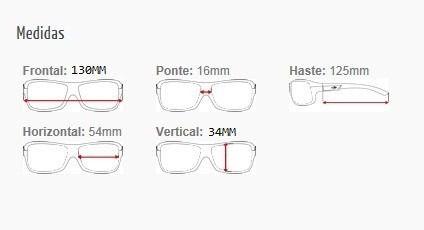Armação Para Oculos De Grau Mormaii Itapuã 3 Cod. 126593950