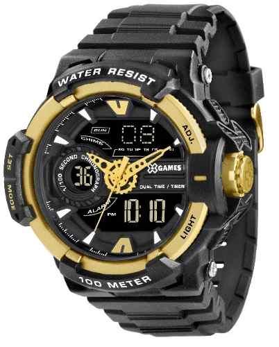 Relógio X Games Xmppa164 - 50mm - Garantia 1 Ano