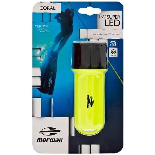 Lanterna Mormaii Coral A Prova D'água Megulho Camping Pesca