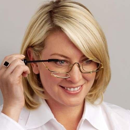 b8666aab6cea8 Oculos Para Maquiagem Armação - Auxilio Para Maquiar - Loja Solare ...