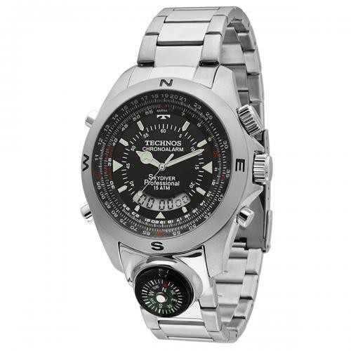 efd6166a6b5 Relógio Technos Skydiver T20566 1p - Garantia 1 Ano - Loja Solare ...