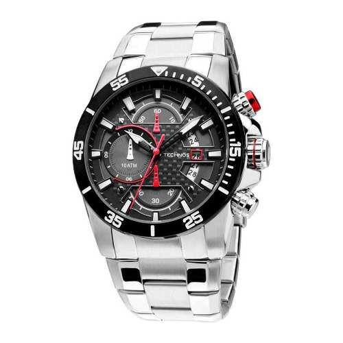 65c6e9fe507 Relógio Technos Cronografo Os10er 1r - Garantia 1 Ano - Loja Solare ...