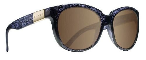 Oculos Solar Evoke Mystique Dark Lace Gold Brown Mirror