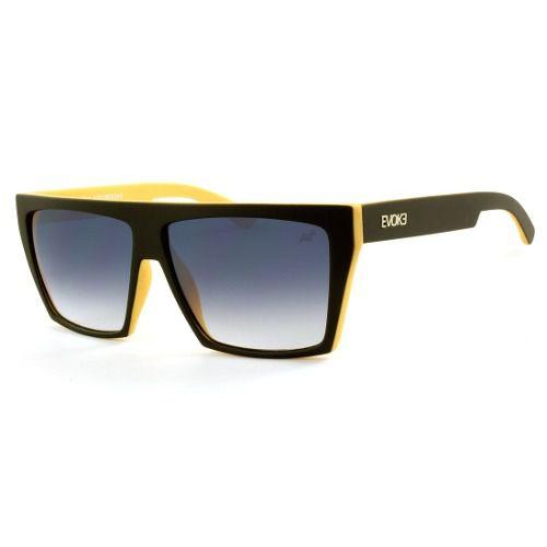 Oculos Evoke Evk 15 Afroreggae Black Yellow Matte Gray Gradi - Loja ... 1e79f29af3