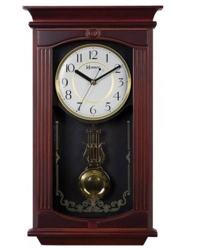 Relógio Parede Herweg 5314 Musical Com Pendulo Retro Vintage