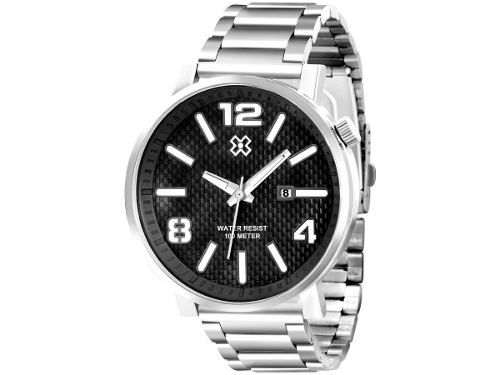 Relógio X Games Xmss1022 50mm Aço - Garantia 1 Ano