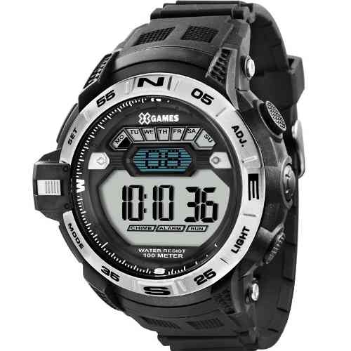 Relógio X Games Xmppd258 - 50mm - Garantia 1 Ano