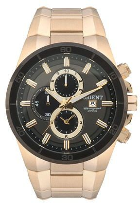 Relógio Orient Cronografo Mgssc004 - Garantia Fabrica 1 Ano