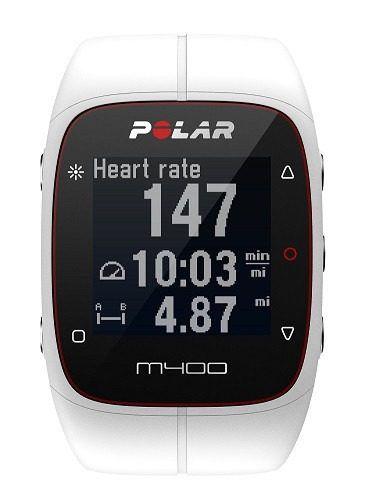 Relogio Monitor Cardiaco Polar M400 White Gps Bluetooth H7