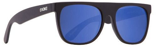 Oculos Evoke Haze A01B Black Matte Blue Mirror