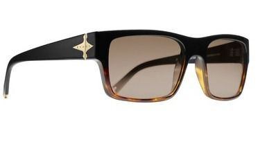 Oculos Evoke Capo 1 A21 Black Turtle Gold Brown Total