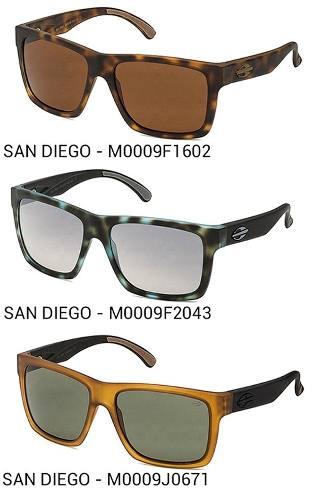 Oculos Solar Mormaii San Diego - Diversas Cores - Garantia