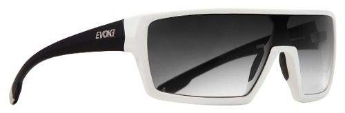 Oculos Evoke Bionic Beta BA11 White Temple Black Gray Gradient