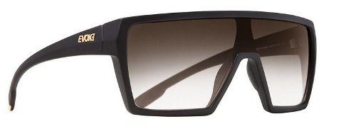 Oculos Sol Evoke Bionic Alfa Black Matte Gold Brown Gradient A13