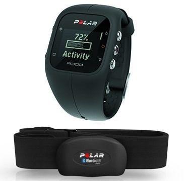 Relogio Monitor Cardiaco Polar A300 Preto Bluetooth Cinta H7