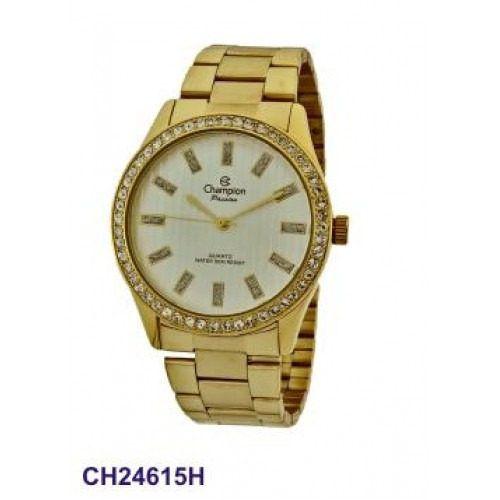 Relógio Champion Feminino C/ Strass Ch24615h - Garantia