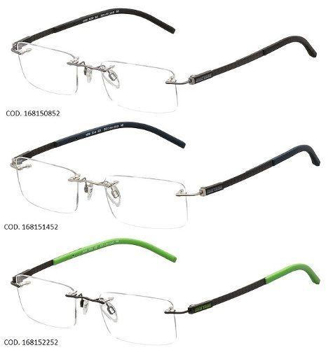 Armação Para Oculos De Grau Mormaii Mo1680 Fibra De Carbono
