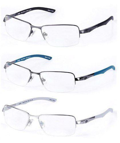 Armação Para Oculos De Grau Mormaii Titanio Mo1532 Garantia