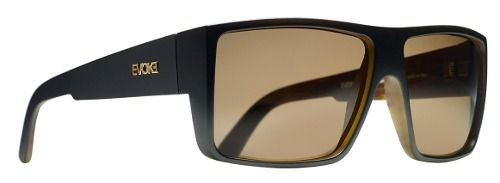 Oculos Sol Evoke The Code WD21 Black Wood Gold Brown Total