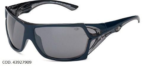 Oculos Sol Mormaii Vulcanus 43927909 Azul Lente Cinza Espelhada