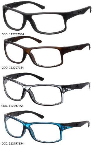 Armação Para Oculos De Grau Mormaii Vibe Rx - Diversas Cores