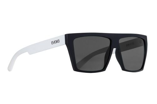 Oculos Evoke Evk 15 New Black Temple White Silver Gray Total