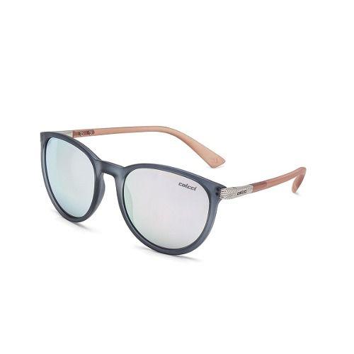 Oculos Solar Colcci Donna C0030d5080 Fumê Fosco / Lente Cinza Flash Prata