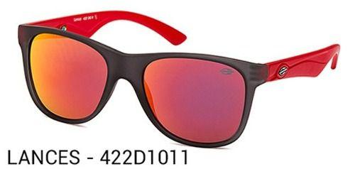 Oculos Solar Mormaii Lances - Cod. 422d1011 - Garantia - Preto/Vermelho - Lente Vermelho Flash