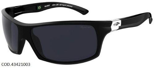 Oculos Solar Mormaii Nunki Xperio Polarizado 43421003 Preto Brilho
