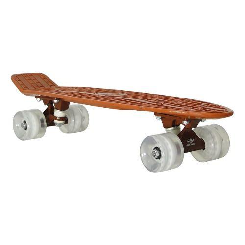 Skate Cruiser Mormaii Mini Longboard Shape Roda Retro Abec 7