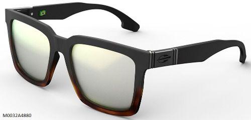 Oculos Solar Mormaii Sacramento M0032a4880  Preto/Marrom - Lente Prata Espelhado