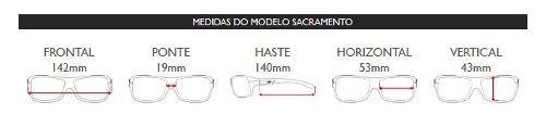 Oculos Solar Mormaii Sacramento Polarizado M0032a6548