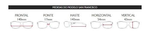 Oculos Solar Mormaii San Francisco M0031f0748 Polarizado EXCLUIR